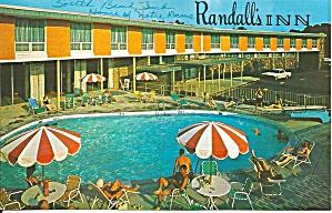 Southbend IN Randell s Inn Postcard p32741 (Image1)