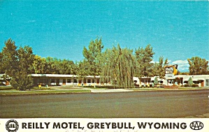 Greybull WY Reilly Motel Postcard p32742 (Image1)