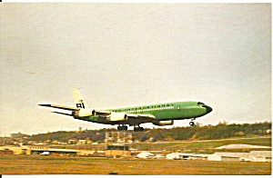 Braniff International 707-327c In Green P32767