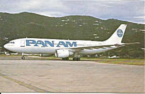 Pan Am Airbus A300-b4-203 N202pa P32771