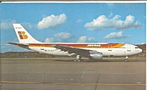Iberia Airbus A300B4-120 EC-DLH at Zurich p32784 (Image1)