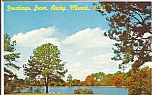 Rocky Mount North Carolina City Park Lake p32792 (Image1)