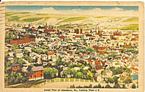 Johnstown PA Aerial View Looking North p32796 (Image1)