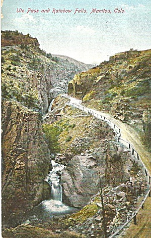 Manitou Colorado Ute Pass and Rainbow Falls p32802 1909 (Image1)