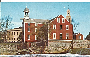 Pawtucket Rhode Island Old Slater Mill P32811