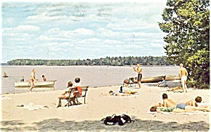 Indian Lake State Park MI Postcard (Image1)