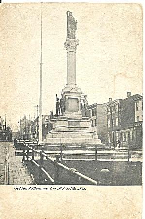 Pottsville PA  Soldiers Monument p32876 (Image1)