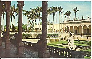 Sarasota  FL  Courtyard of The Ringling Museum p32879 (Image1)