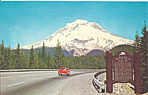 Mt Hood Oregon Postcard P32898