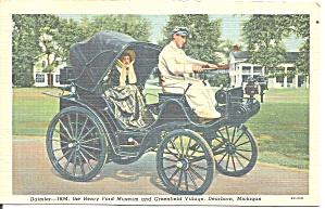 Henry Ford Museum MI Vintage Daimler Car of 1894 p32900 (Image1)