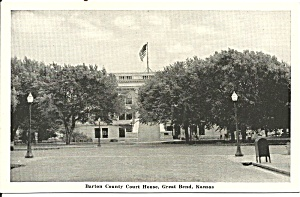 Great Bend, Kansas,barton Cty, Court House