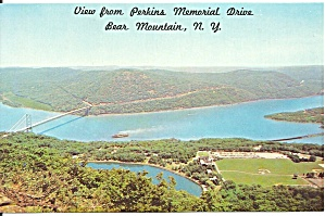 Bear Mountain Ny Aerial View Hessian Lake P32925