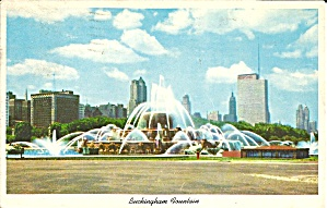 Clarence Buckingham Fountain Chicago Il P32933