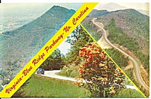 Blue Ridge Parkway Peaks Of Otter Postcard P32967