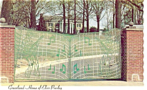 Graceland Elvis Pressley Home Postcard (Image1)