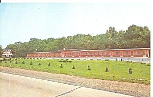 Danville, PA Reichard s Motel Postcard P32971 (Image1)