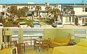 Daytona Beach FL Edgemere Ocean Front Court Motel p32982 (Image1)