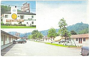 Motel Fort Henry Wheeling WV  Postcard p3301 (Image1)