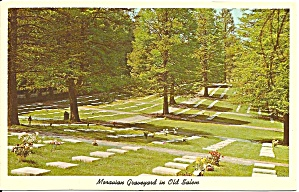 Old Salem Winston Salem NC  Moravian Graveyard p33052 (Image1)