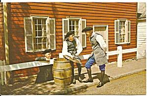 Old Salem Winston Salem NC  Street Scene p33053 (Image1)