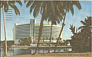 Miami Beach FL The Fontainebleau Hotel  p33088  1965 (Image1)