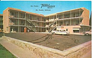 El Paso TX The El Paso Travelodge p33096  Cars 50s (Image1)