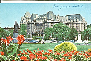 Victoria BC Canada Empress Hotel and Grounds p33102 (Image1)