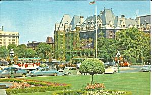 Victoria BC Canada Empress Hotel Vintage Cars p33108 (Image1)