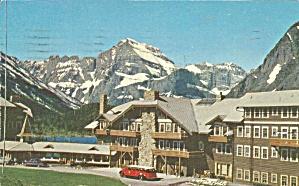 Glacier National Park MT Many Glacier Hotel Mt Gould p33126 (Image1)