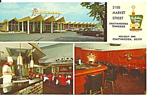 ChattanoogaTN Holiday Inn South Postcard p33170 (Image1)