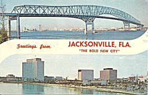 Jacksonville FL Hant Bridge and Seaboard Coastline p33189 (Image1)