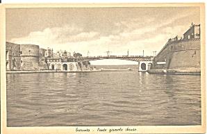 Taranto, Italy Pointe Gireuole Chiuso Bridge Harbor (Image1)