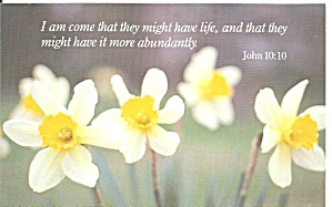 I Have Come That They Might Have Life... John 10:10