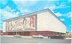 Lincoln NE Pershing Auditorium Postcard (Image1)