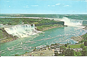 Niagara Falls From The Oneida Tower Postcard P33221