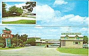 Seely TX Stephen F Austin Motel Postcard p33255 (Image1)