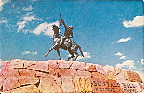 Cody Wyoming, Buffalo Bill Statue P33269