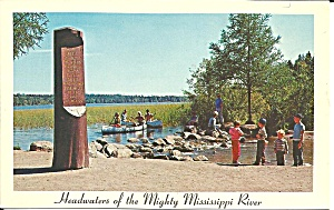 The Mighty Mississippi River Lake Itaska Mn P33277