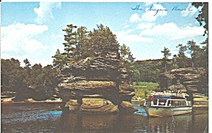 Lower Dells Wisconsin River Wi Sugar Bowl P33293