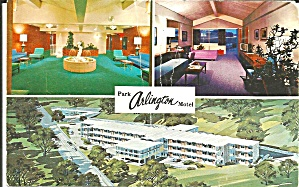 Arlington VA Park Arlington  Motel Postcard p33298 (Image1)
