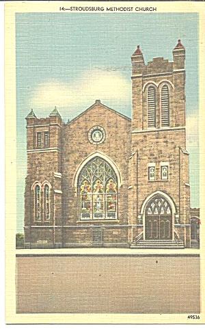 Stroudsburg PA Methodist Church p33306 (Image1)