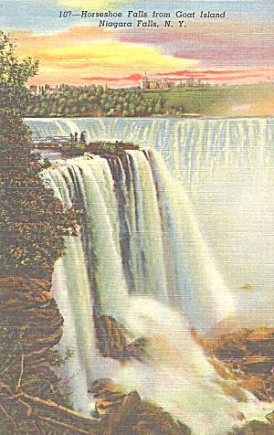 Niagara Falls Horseshoe Falls From Goat Island p33309 (Image1)