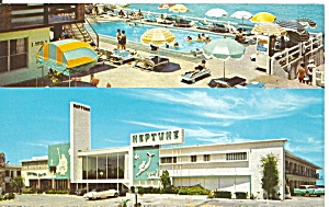 Miami Beach Florida Neptune Resort Motel P33341