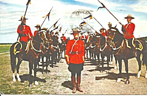 Royal Canadian Mounted Police Musical Ride p33342 (Image1)