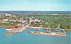 Dunedin FL Aerial View  Marina Downtown p33354 (Image1)
