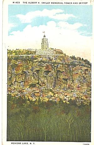 Mohonk Lake NY Albert  Smiley Memorial Tower p33371 (Image1)