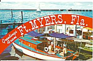 Ft Myers, FL Marina Scene p33376 (Image1)