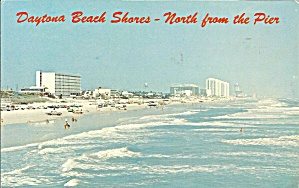 Daytona Beach Fl North From The Pier P33377