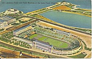 Soldiers Field Chicago Burnham  Park p33381 (Image1)
