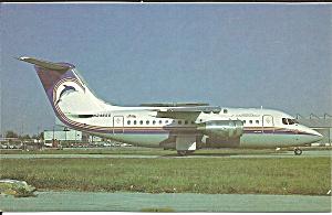 British Carribbean BAE 146-100A N246SS p33399 (Image1)